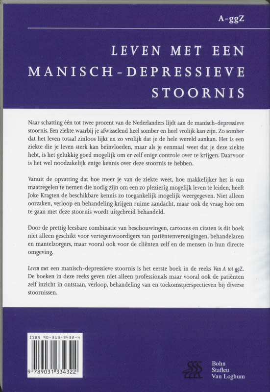 J. Kragten,Leven met een manisch-depressieve stoornis