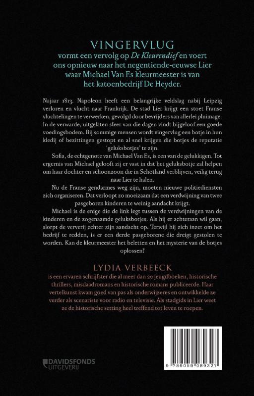 Lydia Verbeeck,Vingervlug