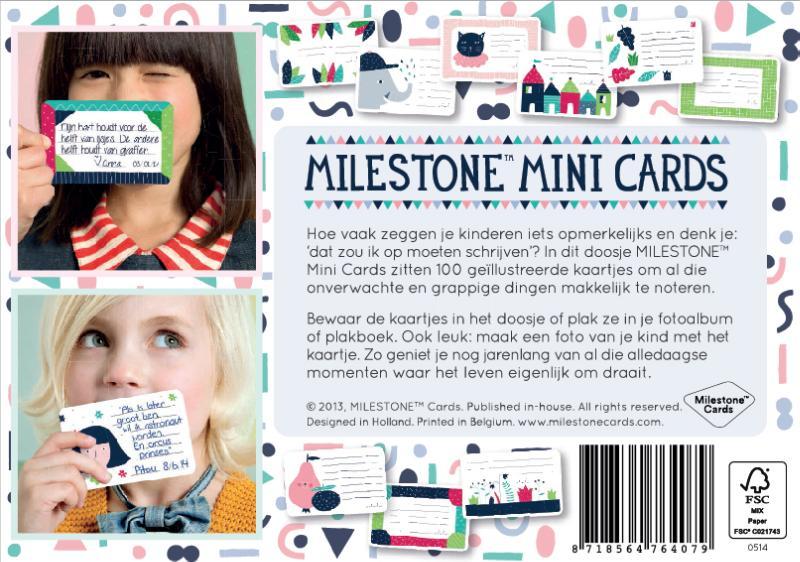 Gemma Broekhuis,Milestone Mini Cards