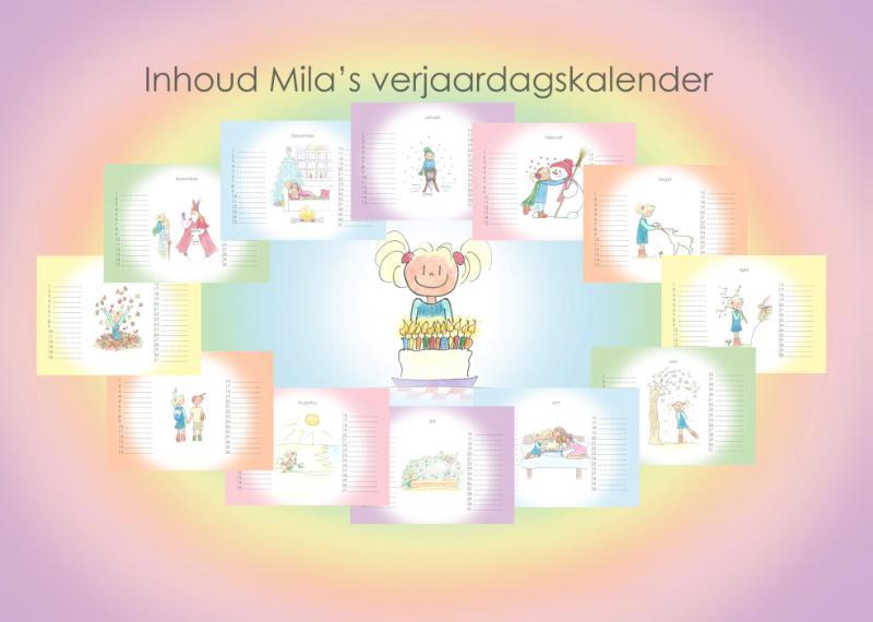,Mila`s verjaardagskalender