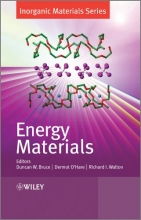Bruce, Duncan W. Energy Materials