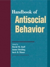 Stoff, David M. Handbook of Antisocial Behavior