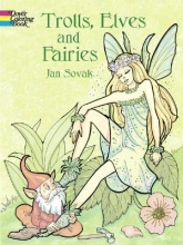Jan Sovak Trolls, Elves and Fairies Coloring Book