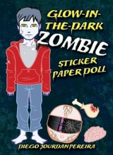 Pereira, Diego Jourdan Glow-In-The-Dark Zombie Sticker Paper Doll