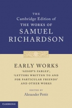 Richardson, Samuel Early Works
