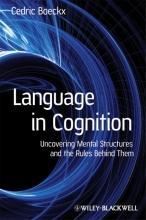 Cedric Boeckx Language in Cognition