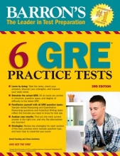 Freeling, David,   Kotchian, Vince Barron`s 6 GRE Practice Tests