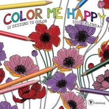 Color Me Happy 2017 Calendar
