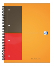 , Spiraalblok Oxford International Notebook A5+ gelinieerd