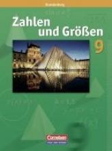 Wimmers, Ralf,   Wennekers, Udo,   Verhoeven, Martina,   Gabriel, Ilona Zahlen und Größen 9. Schuljahr. Schülerbuch. Brandenburg