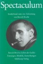 Brecht, Bertolt Spectaculum 65. Sonderband zum 100. Geburtstag von Bertolt Brecht