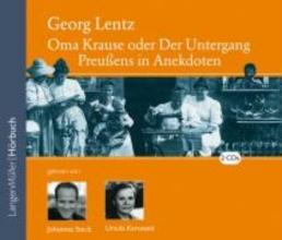 Lentz, Georg Oma Krause. 2 CDs