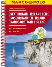 , MARCO POLO Reiseatlas Großbritannien, Irland 300 000