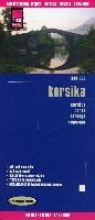 , Reise Know-How Landkarte Korsika 1 : 135.000