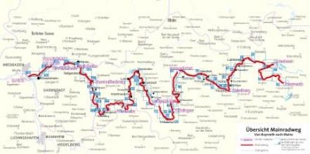 Vogt, Hans-Peter FF6235 Mainradweg, Bayreuth nach Mainz Kompass