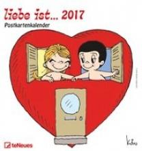 Casali, Kim liebe ist... 2017. Postkartenkalender