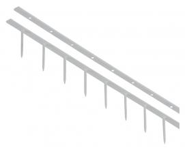 , Surebindstrip GBC 25mm 10-pins grijs