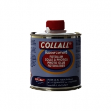 , Rubbercement Collall 250ml + kwast