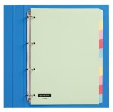 , Tabbladen Quantore 4-gaats 10-delig assorti karton