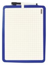 , Whiteboard Desq 21X28cm tweezijdig magnetisch