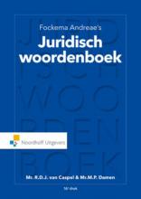 M.P. Damen R.D.J. Caspel van, Fockema Andreae`s juridisch woordenboek