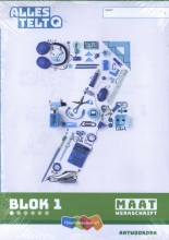 , Alles telt Q Antwoordschrift Maat blok 1 t/m 6 groep 7