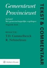 Tekst & commentaar Gemeentewet Provinciewet