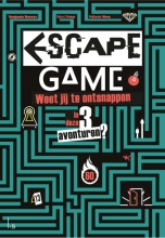 Benjamin  Bouwyn, Melanie  Vives, Remi  Prieur Escape game