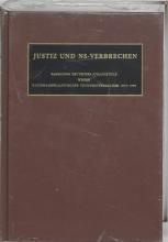 D.W. de Mildt C.F. Ruter, Justiz und NS-Verbrechen XXXVI
