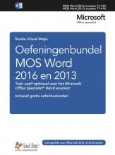 Studio Visual Steps , Oefeningenbundel MOS Word 2016 en 2013