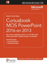 Studio Visual Steps , Cursusboek MOS PowerPoint 2016 en 2013
