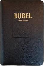 , Bijbel (SV) met psalmen (niet-ritmisch) - met goudsnee, rits en duimgrepen