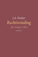 J.A. Pontier , Rechtsvinding