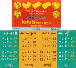 , Tafels van 1 tot 12 Rekenen