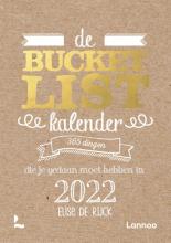 Elise De Rijck , De Bucketlist scheurkalender 2022