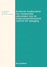 P.A.M.  Mevis, S.  Struijk, M.J.F. van der Wolf Juridische haalbaarheid van voorgestelde oplossingen voor de weigeraarsproblematiek omtrent tbs-oplegging