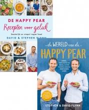 David  Flynn, Stephen  Flynn Combipakket De Wereld van de Happy Pear & De Happy Pear Recepten voor geluk