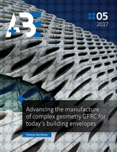Thomas N.  Henriksen Advancing the manufacture of complex geometry GFRC for today`s building envelopes