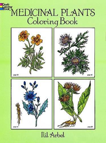 Ilil Arbel,Medicinal Plants Coloring Book