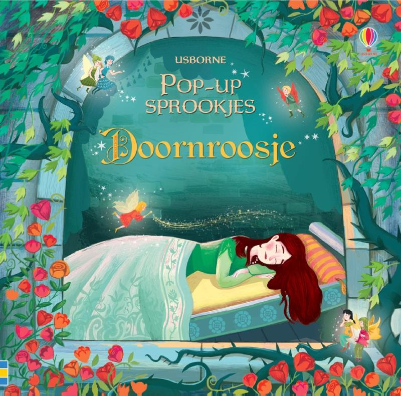 ,Pop-up sprookjesboeken Doornroosje