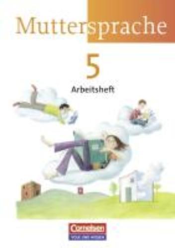 ,Muttersprache 5. Arbeitsheft - Neue Ausgabe - Östliche Bundesländer und Berlin