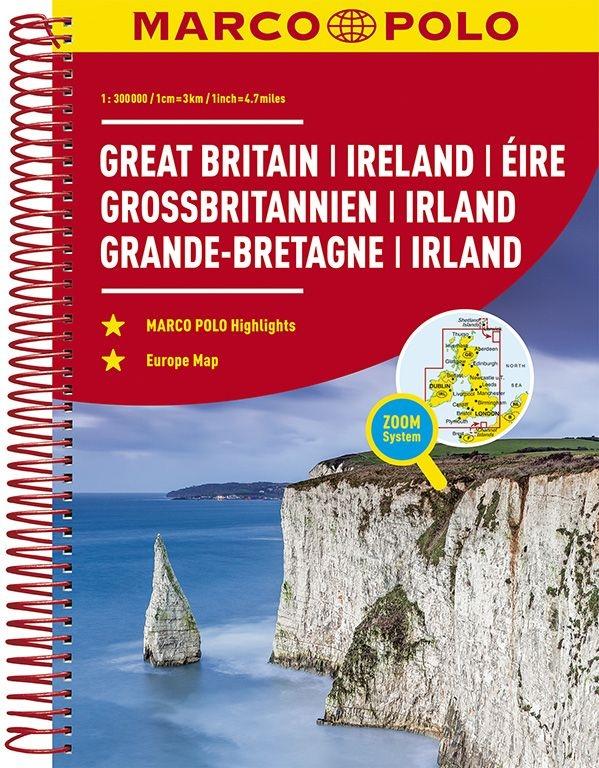 ,MARCO POLO Reiseatlas Großbritannien, Irland 300 000
