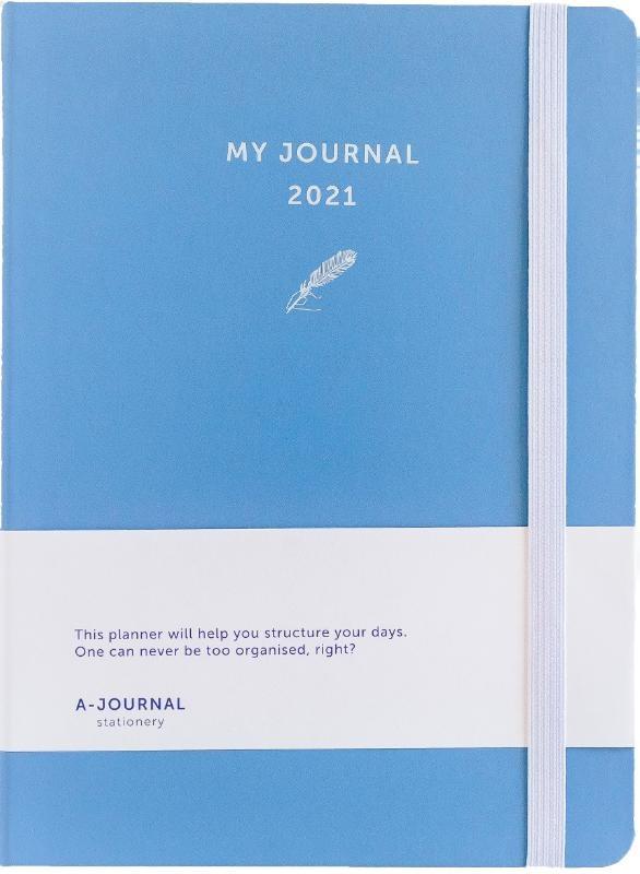 ,My Journal Agenda 2021 - Lavendel