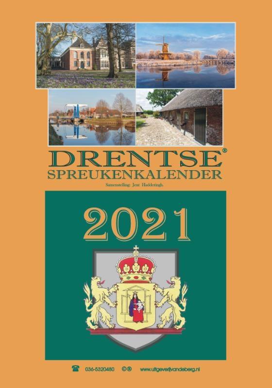 Jent Haddering,Drentse spreukenkalender 2021