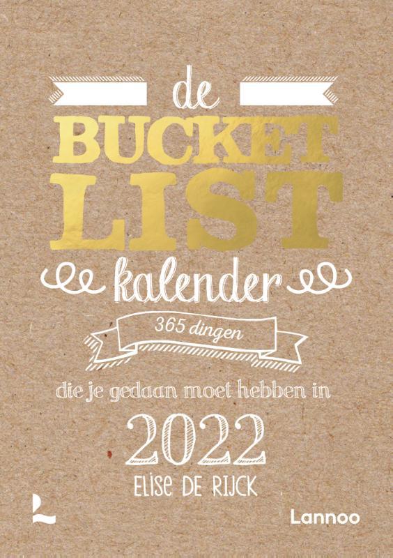 Elise De Rijck,De Bucketlist scheurkalender 2022