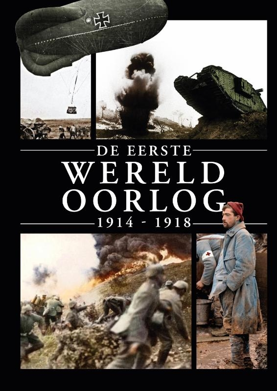 Henk van der Linden,De Eerste Wereldoorlog 1914-1918
