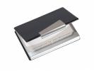 ,visitekaartjesetui Sigel aluminium voor kaarten tot 90x58mm