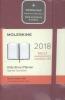 ,Moleskine 12 month - daily - pocket - berry rose - hard