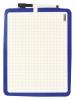 ,<b>Whiteboard desq dubbelzijdig 21x28cm randloos + marker</b>