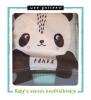 Wee Gallery ,Knuffelboekje Panda
